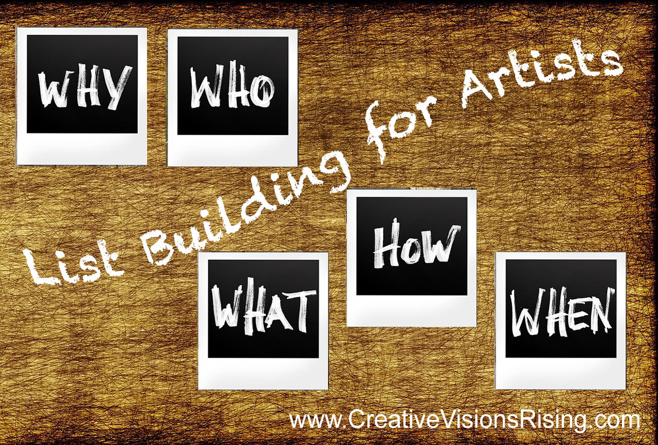 Growing Your EMail List As an Artist